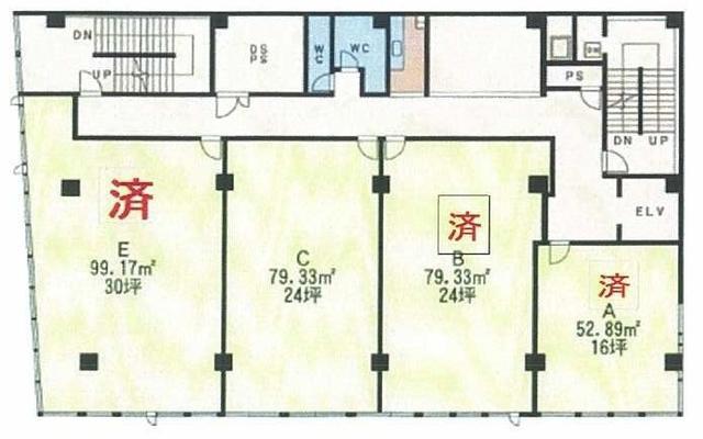 平和通駅 4分 の貸店舗・事務所(一部)