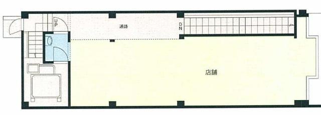 平和通駅 3分 の貸店舗(一部)