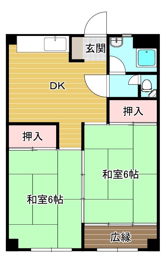 リバーサイド・プリンセス浅香通り 403 2DK